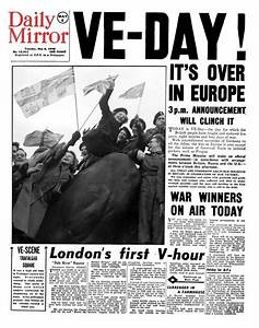 VE Day: Full edition of Daily Mirror from day of Britain's ...