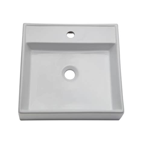 decolav classically redefined vessel sink in white 1464