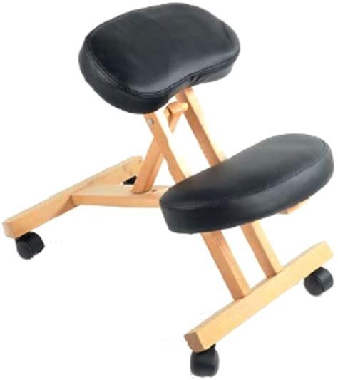 tabouret ergonomique assis genoux
