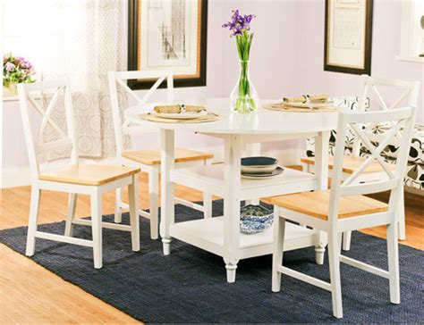 Kitchen Table Chairs At Walmart by Cottage 5 Dining Set White And