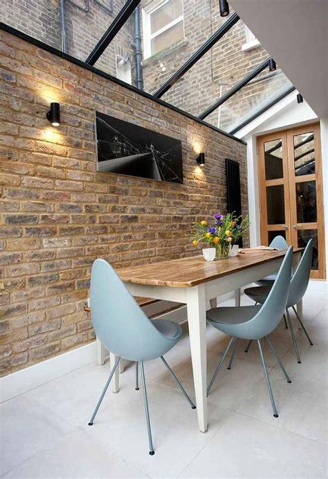 d 233 co salle 224 manger avec mur brique 50 id 233 es originales