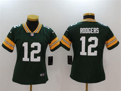 New Nike Packers 12 Aaron Rodgers Green Women Vapor