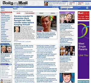 Daily Mail launches new website - try it here | Daily Mail ...