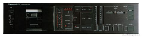 Nakamichi Deck Bx 2 by Nakamichi Bx 2 Manual Two Stereo Cassette Deck