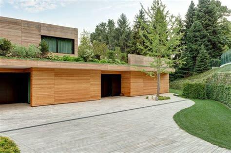 maisons en bois contemporaines la house u 224 milan