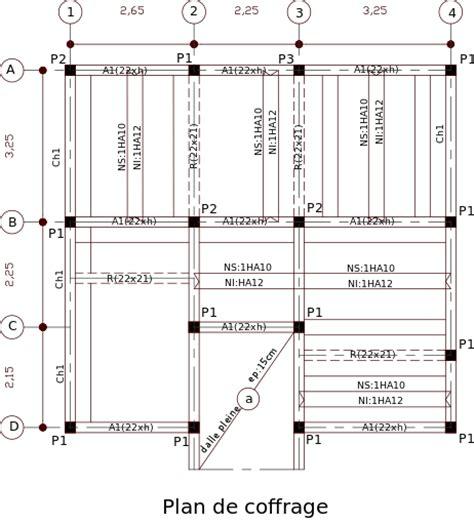 cours dessin de plans coffrage ferraillage et b 233 ton arm 233 outils livres exercices et vid 233 os