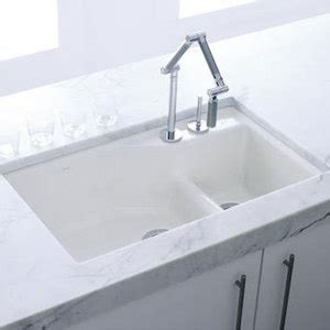 k6411 2 0 indio white color undermount bowl kitchen sink white at the stock market