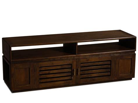 meuble tv pas cher vente unique meuble tv talang teck massif ventes pas cher