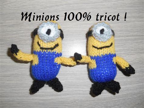 tricoter des minions facile knitting minion easy 100 tricot