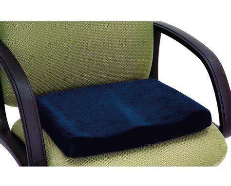 Memory Foam Sculpted Seat Cushion  Essential Medical Supply