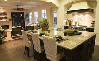 Best Floor For Kitchen And Family Room by Open Floor Plan Kitchen Design Ideas Kitchen Xcyyxh