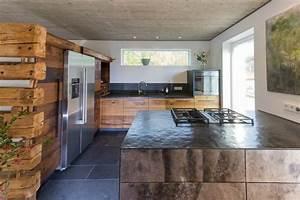 Modulküche Selber Bauen : wohnk che in eiche altholz ~ Markanthonyermac.com Haus und Dekorationen