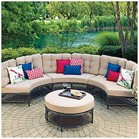 view wilson fisher 174 resin wicker patio set deals at big lots