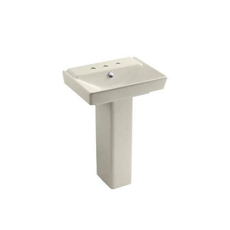 Home Depot Corner Pedestal Sink by Kohler Memoirs Ceramic Pedestal Combo Bathroom Sink In