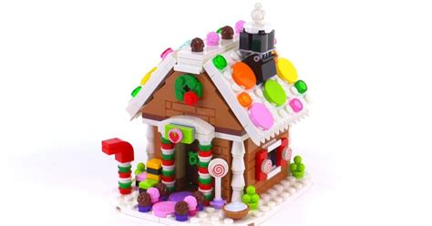 Lego 2015 Gingerbread House Reviewed! Set 40139