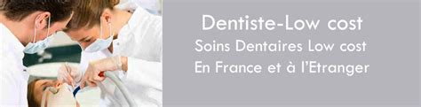 dentistes low cost discount en