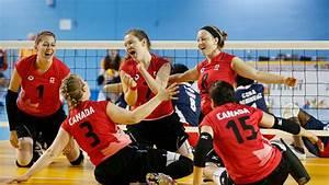 Saskatchewan referee in Rio officiating sitting volleyball ...