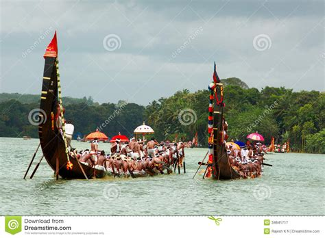 Dream Boat Race by Snake Boat Races Of Kerala Editorial Photography Image