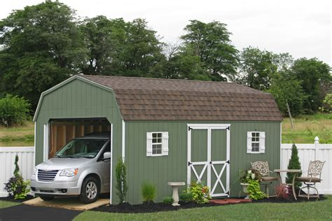 Garage Shed : Prefab Garage Packages From Sheds Unlimited In Lancaster