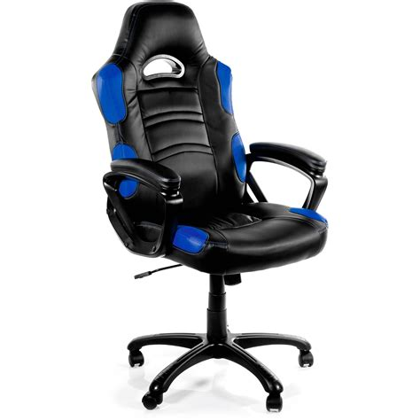 arozzi enzo gaming chair blue enzo bl b h photo