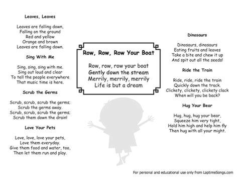 Row Your Boat Full Song by Row Boat Row Row Row Your Boat Lyrics