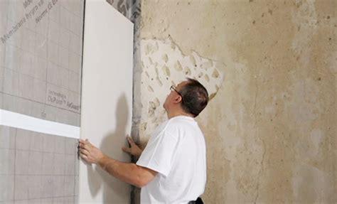 doubler un mur avec des plaques de pl 226 tre