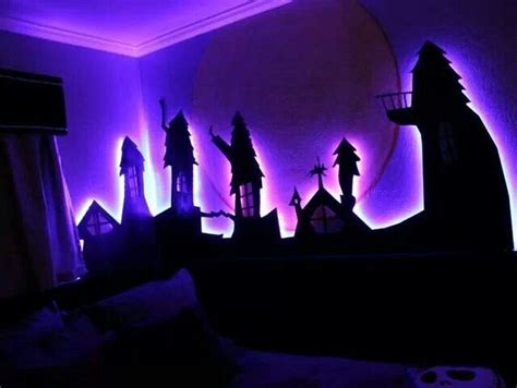 nightmare before themed room bedroom ideas
