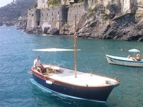 Excursion Catamaran Juan Les Pins by Italian Coast Fiart 25 Gozzo Boat Rental Motor Boat