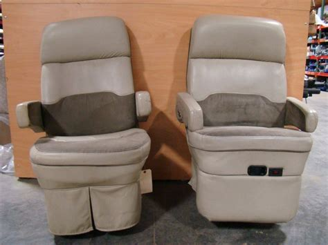 rv furniture used rv motorhome furniture set of 2 flexsteel captains chairs for sale rv captains