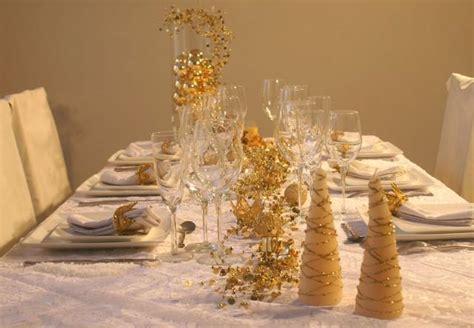 dressage de table d 233 co de table de no 235 l blanc et or