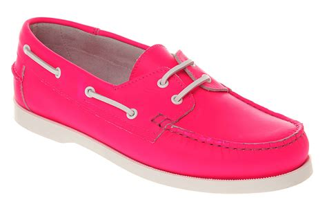 Pink Boat Shoes For Men by Mens Office Yachting Boat Shoe Neon Pink Lthr Casual Shoes