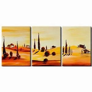 Bild 3 Teilig Auf Leinwand : handgemalt bild auf leinwand 5 teilig wald landschaften baum on popscreen ~ Markanthonyermac.com Haus und Dekorationen