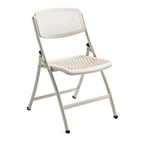 flex one folding chair from mity lite white