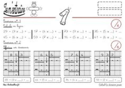 1000 images about calcul on multiplication division and cycle 3