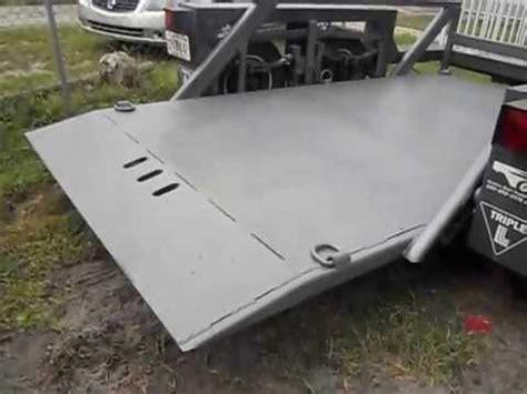 jlg l 7612 hydraulic drop deck trailer drop deck