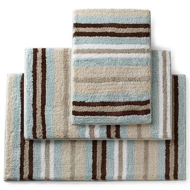 royal velvet 174 memory foam stripe bath rugs jcpenney for the home royals rugs