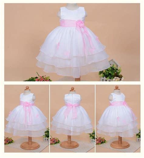 robe de bapt 234 me b 233 b 233 fille robe princesse sans manche avec ceinture robes bebe