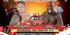 ROH 14th Anniversary iPPV (2/26) Preview & Predictions