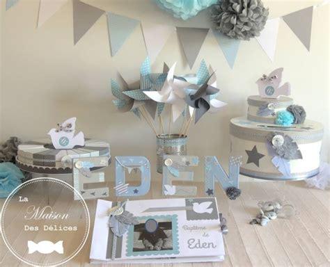 fanions bleu gris et blanc collection guirlande fanions