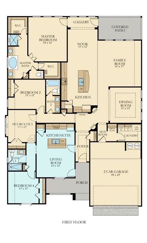 492n hilltop new home plan in johnson ranch reserve by lennar