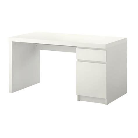 malm bureau wit ikea