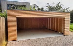 Holzgarage Mit Carport : montierte holzgarage mit gro e gemeinsame tor carport in 2018 pinterest montiert ~ Markanthonyermac.com Haus und Dekorationen