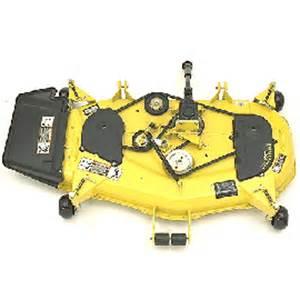 deere complete 48c 48x shaft driven mower deck assembly sku21683
