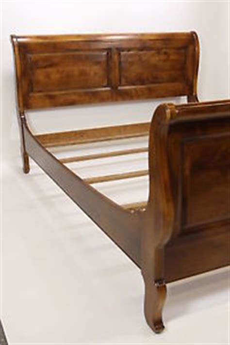 ethan allen sleigh bed country collection 26 5611