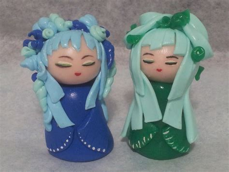 kokeshi en pate fimo by lillycherry creation on deviantart