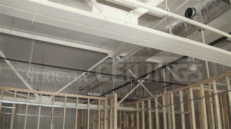 install drywall suspended ceiling grid systems drop ceilings installation how to