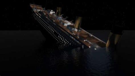 Titanic Sinking Animation 3d by Titanic Animation Render