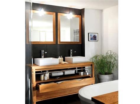 indogate meuble rangement salle de bain blanc