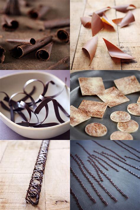 d 233 corations en chocolat techniques en images chefnini