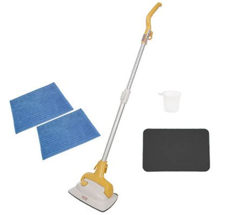 haan floor steam cleaner and sanitizer w 2 microfiber